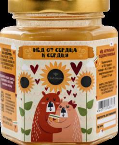 мед цветочный от сердца к сердцу